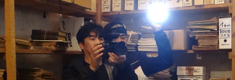Deux tournages coréens à Avignon le même jour