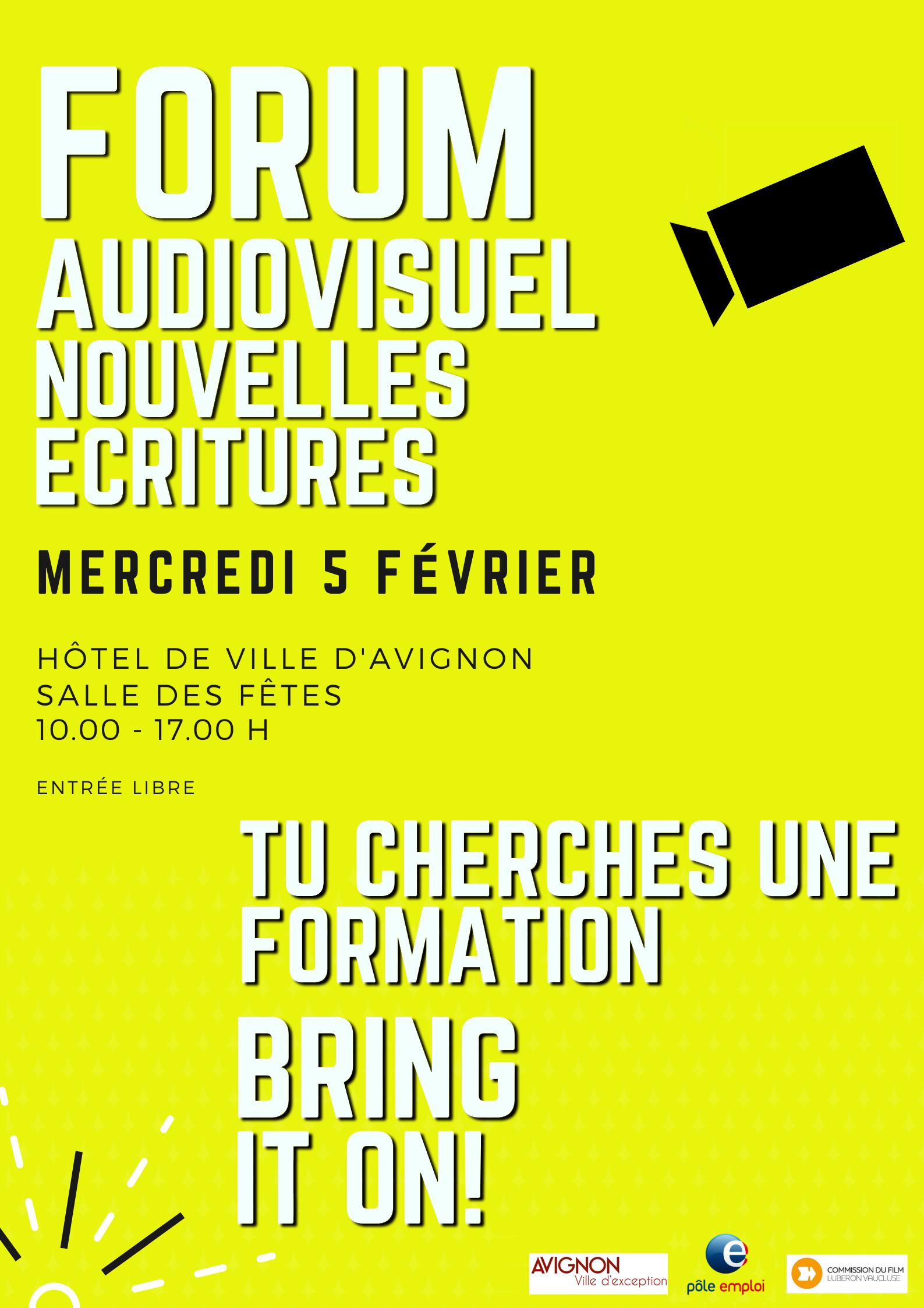 2nd Forum de la Formation de l'audiovisuel et des Nouvelles Ecritures
