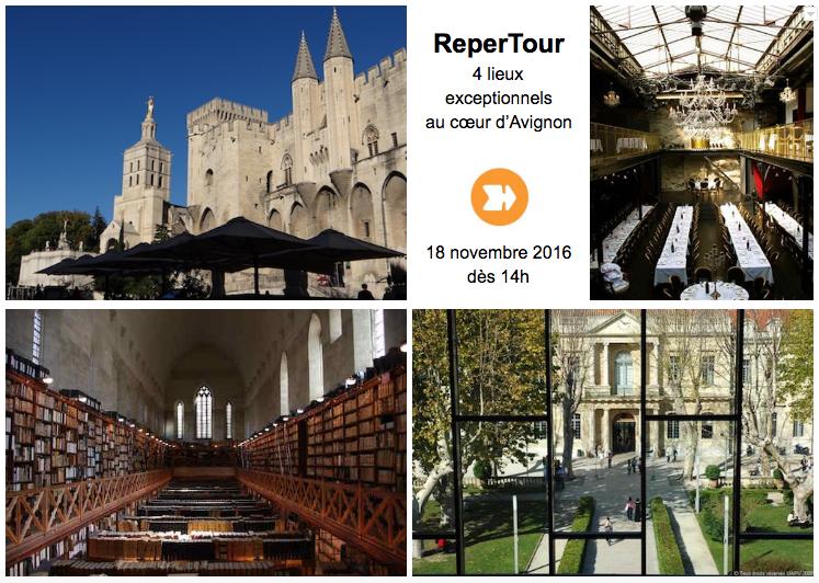ReperTour : 4 lieux d'exception au cœur d'Avignon