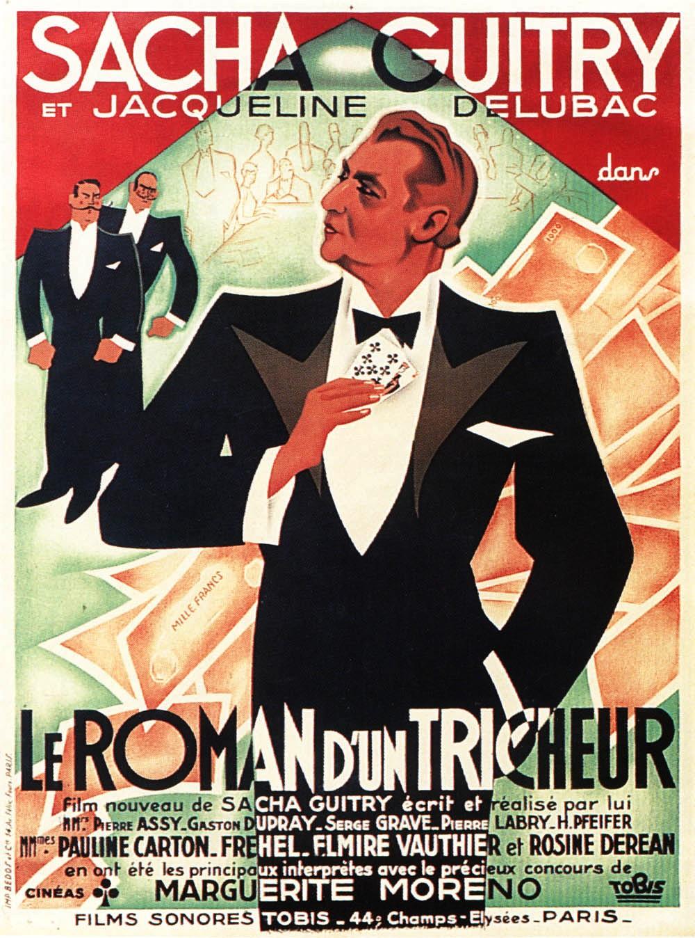 Le Roman d'un Tricheur (1936)