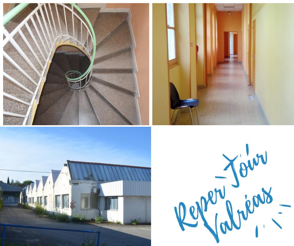 ReperTour à Valréas : Friche industrielle, Château de Simiane, Ancien Lycée